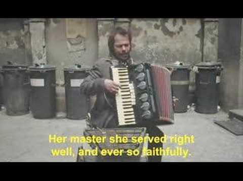 Stroszek Bruno S playing glockenspiel accordion