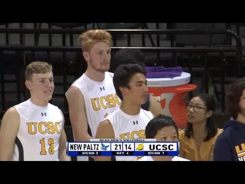 2019 Men's Volleyball Slug Slam feat. SUNY New Paltz vs UC ...