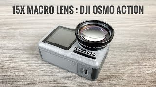 15x Macro Lens for DJI Osmo Action