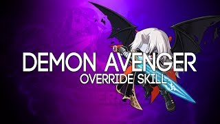 [Reboot] Demon Avenger OVERRIDE 5th Job Skill Showcase
