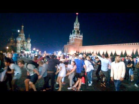 Никольская.Nikolskaya Street #2 После матча. 1 июля 2018