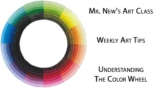 Making A Color Wheel And Introduction To Theory