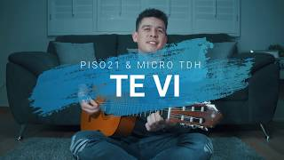 Te Vi Piso 21 Micro TDH COVER Guitarra F cil.mp3