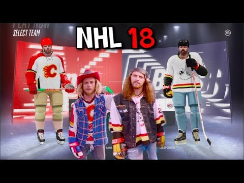 CREATING JACOB ARDOWN AND OLLY POSTANIN IN NHL 18