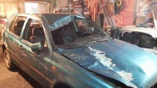видео Как вытянуть крышу автомобиля