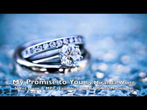 My Promise To You Wedding Piano Music By Miranda Wong