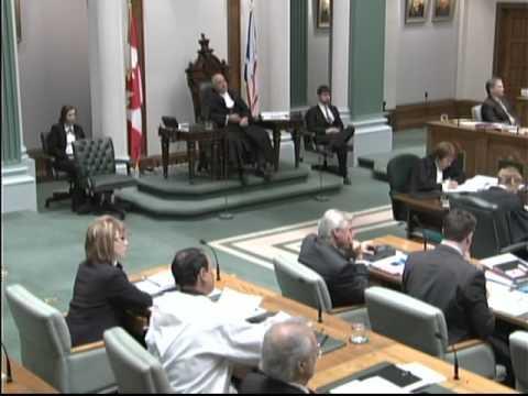 MHA Randy Edmunds asks about Labrador justice system