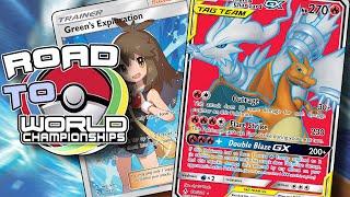 NEW FIRE BUDGET (?) Reshiram & Charizard GX deck profile! [Pokemon TCG Online]
