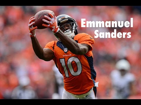 Emmanuel Sanders Highlights 2016-17 ||HD||