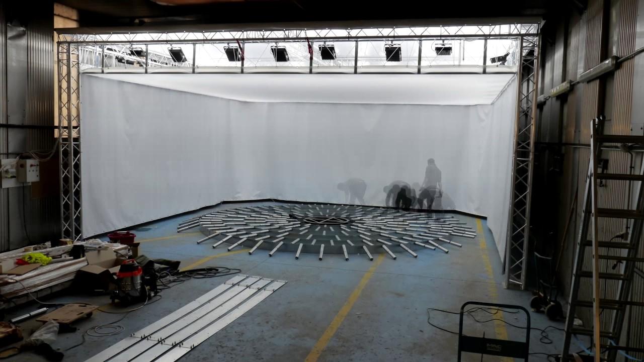 montage d 39 un carlab studio photo et plateau tournant pour voitures youtube. Black Bedroom Furniture Sets. Home Design Ideas