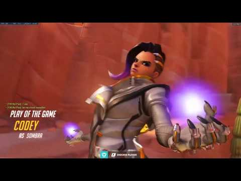 Overwatch Sombra God Codey Showing His Tracking Skills -POTG-