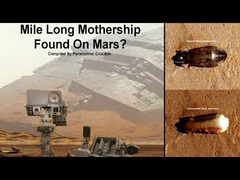 nouvel ordre mondial | Mile Long Mothership Found On Mars? October 2017