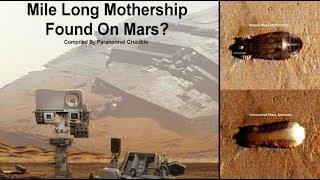 見つかっちゃったってやつ?またしても火星の地表に巨大な母艦みたいな物体が発見される