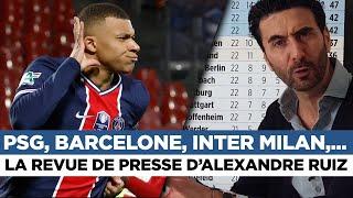 📰 Barcelone, Inter Milan, PSG,... La revue de presse du jour par Alexandre Ruiz