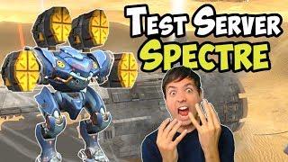 War Robots New Jump Bot EXORCIST on Test Server 4x Medium Weapons