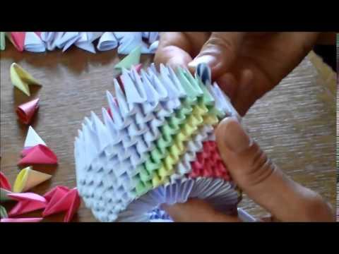 tutoriel comment cr er un cygne origami 3d youtube. Black Bedroom Furniture Sets. Home Design Ideas