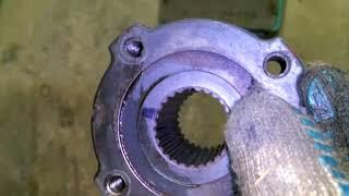 замена переднего сальника коленвала вольво v40