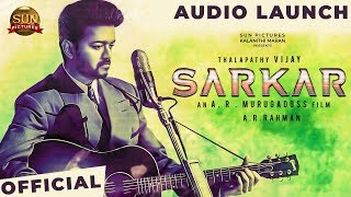 BREAKING: Sarkar Audio Launch Venue Details! | Sarkar Kondattam | Thalapathy Vijay