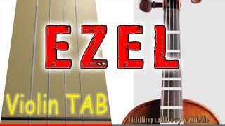 Ezel - Eysan Unutamiyorum - Violin - Play Along Tab Tutorial