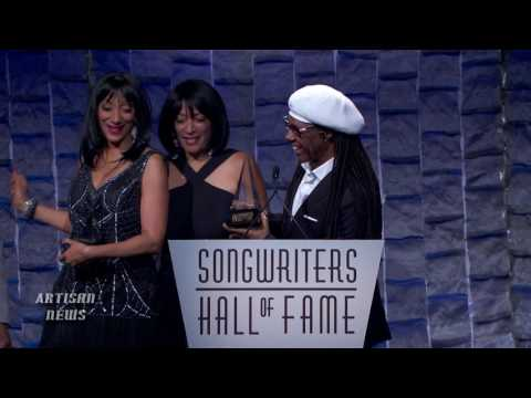 NILE RODGERS GETS SONGWRITERS HALL OF FAME NOD FROM SISTER SLEDGE
