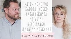 Eroon lentopelosta? Lentäjä ja psykologi kommentoi - vieraana Tapio on the move 🙀