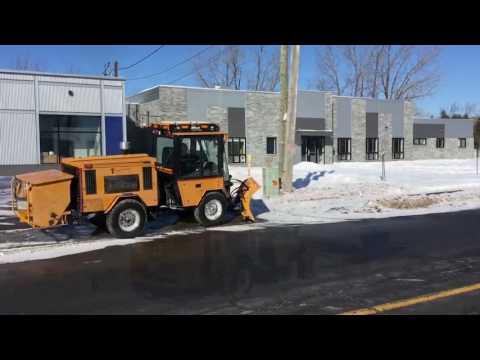 Sidewalk Snow Management Sidewalk Plow