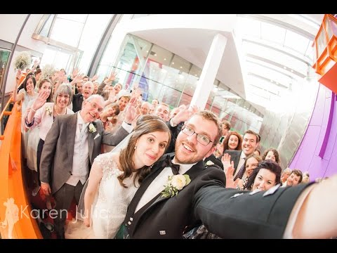 Documentary Lowry Theatre Wedding Photography