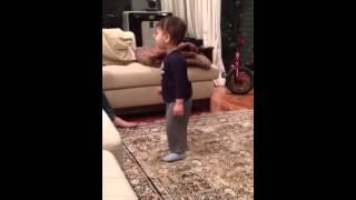 Arjun dancing