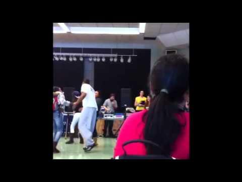 Dancing at auburn drive high school