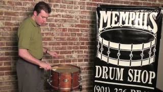 Pearl Philharmonic Snare Drum Demo at Memphis Drum Shop