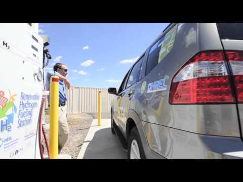 Hydrogen and Fuel Cell Research at NREL's Hydrogen Infrastructure Testing and Research Facility