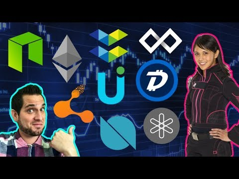 """Pink Ranger Joins Crypto?!? Is DigiByte The REAL Bitcoin? Bitconnect """"Ring Leader"""" Arrested!!!  $UUU"""