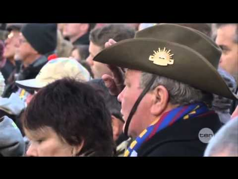 ANZAC day events in France