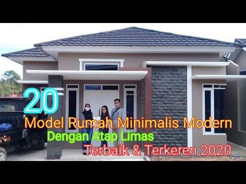 20 model rumah minimalis modern dengan atap limas - youtube