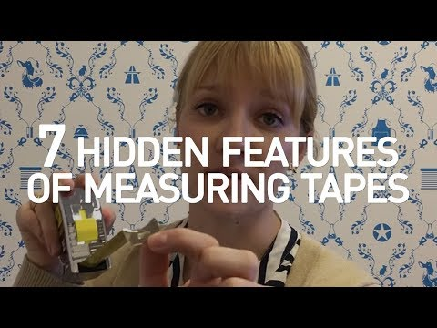7 Hidden Features of Measuring Tapes- Tape Measure Tricks