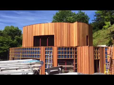 Greenheart Passivhaus Build, Rowberrow UK