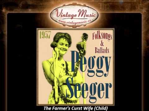 Peggy Seeger -- The Farmer's Curst Wife (Child)