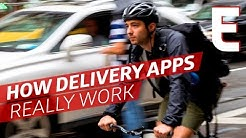Can You Make a Living as a Delivery App Bike Messenger?