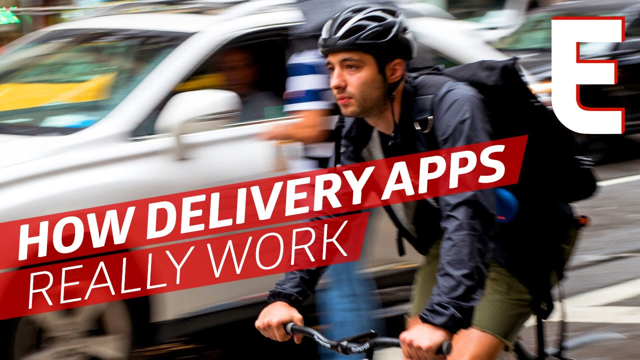 Can You Make A Living As A Delivery App Bike Messenger Youtube