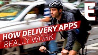 Kan Je een Leven als een Levering App fietskoerier?