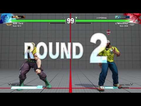 STREET FIGHTER Patoz Xitao Rashid vs God Zack Nash