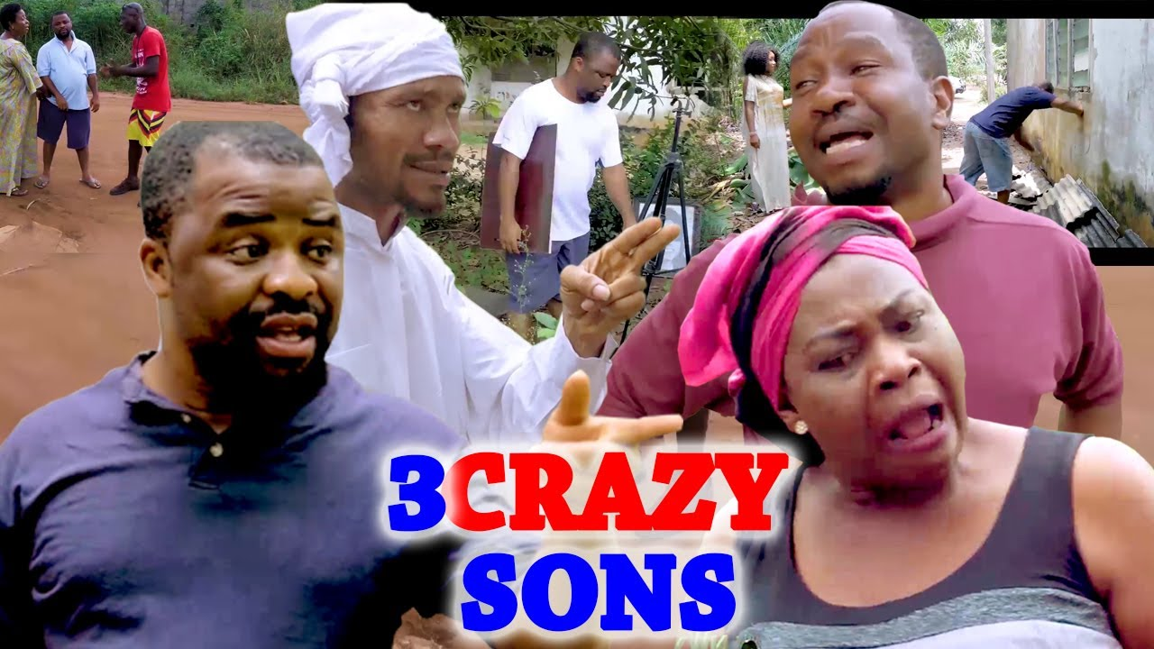 Download 3 Crazy Sons - Do Good 2021 Latest Nigerian Nollywood Comedy Movie Full HD