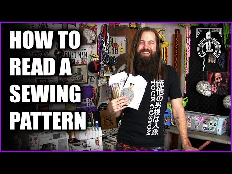 How to read a Sewing Pattern for Beginners - Creating your first sewing pattern!