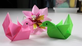 Origami Animal Mandarin Duck