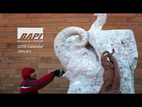 BAPI 2019 Calendar, January - Winter Fest at KVR