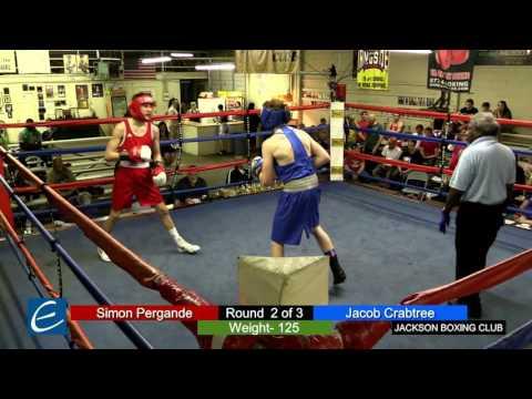 Jackson, Tn Boxing 26MAR2016 S Pergande vs J Crabtree