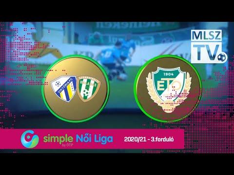 Haladás-Viktória - ETO FC Győr | 1-1 | Simple Női Liga | 03. forduló | MLSZTV thumbnail