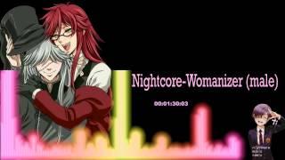 ▶[Nightcore] ★ Womanizer (Male version)
