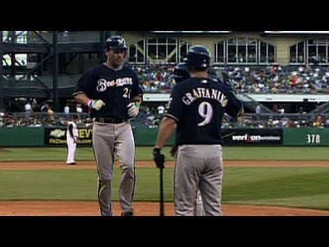 Miller drives in seven against the Pirates