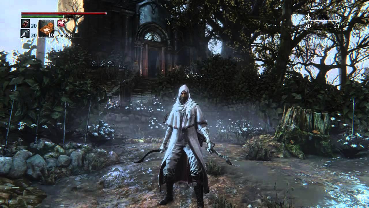 bloodborne blade of mercy moveset youtube